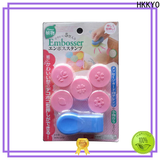 HKKYO many colors punch craft tools factory for envelopes