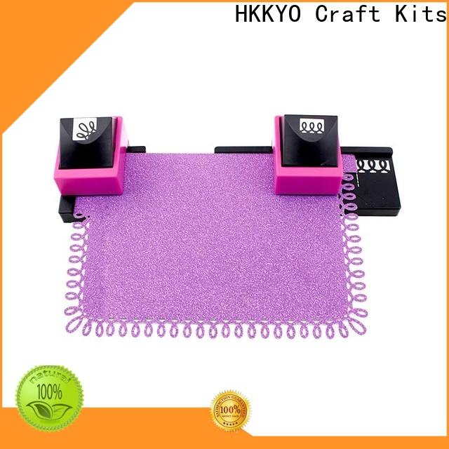 Custom craft hole punch mini factory for kids craft