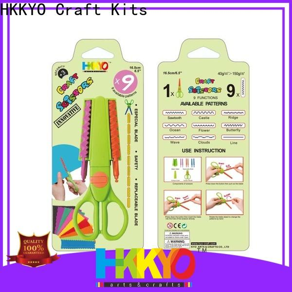 High-quality craft scissors ABS & Glass Fiber factory for gifts wrapping