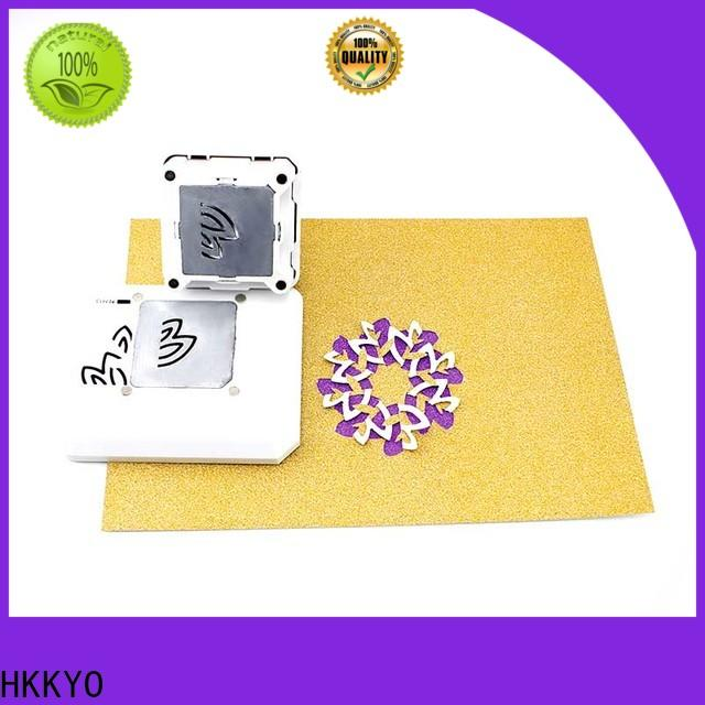 HKKYO automatically line up paper shape punch for business for birthday cards