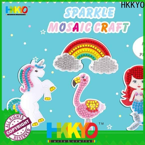New craft kits for kids rainbow Supply for birthday cards