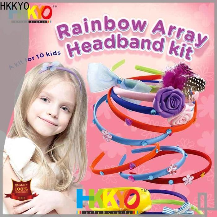 HKKYO New craft sets for kids for business for Christmas gift