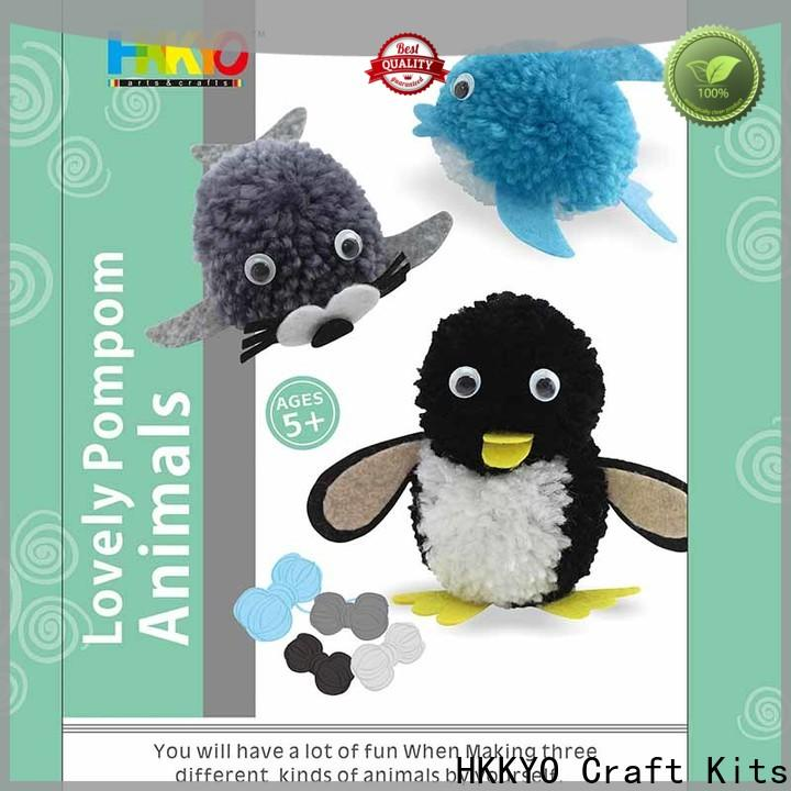 Custom christmas craft kits animals manufacturers for decoration