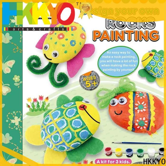 HKKYO rock christmas craft kits for business for window art