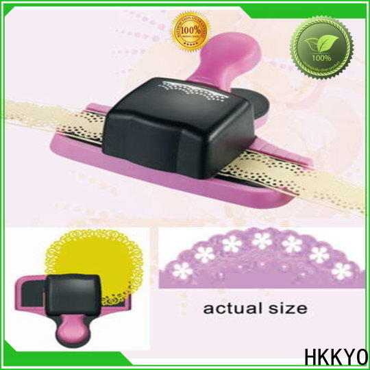 HKKYO embossing border punch factory for paper craft