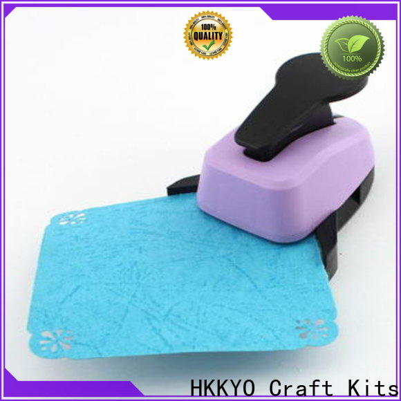 HKKYO 3 ways corner paper punch manufacturers for cards