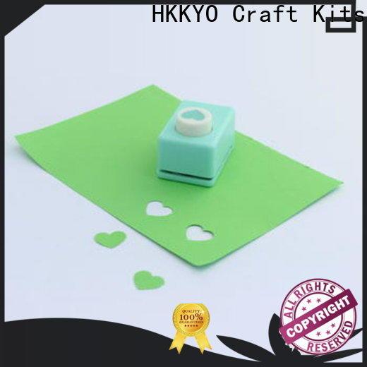 HKKYO foam scrapbook punches manufacturers for paper craft