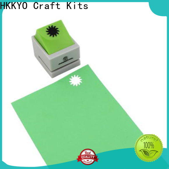 HKKYO High-quality scrapbook hole punch Suppliers for paper