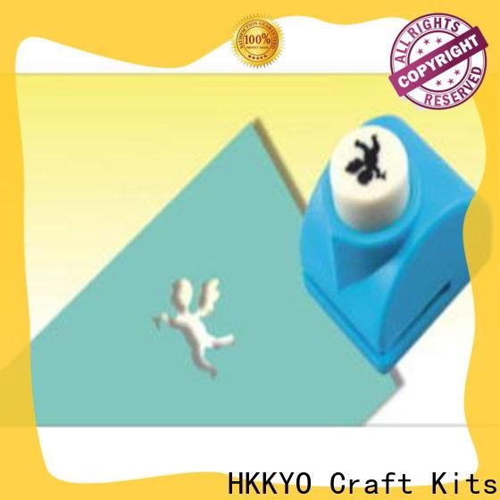 HKKYO paper shape craft paper punch shapes factory for kids DIY artwork