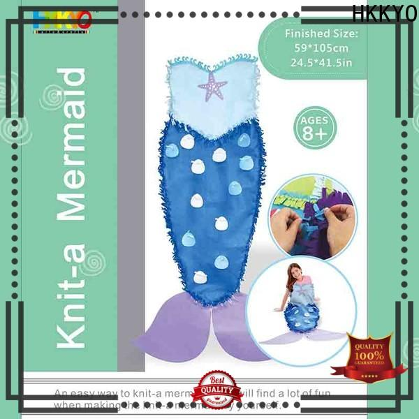 HKKYO fleece craft sets for adults Supply for holiday presents