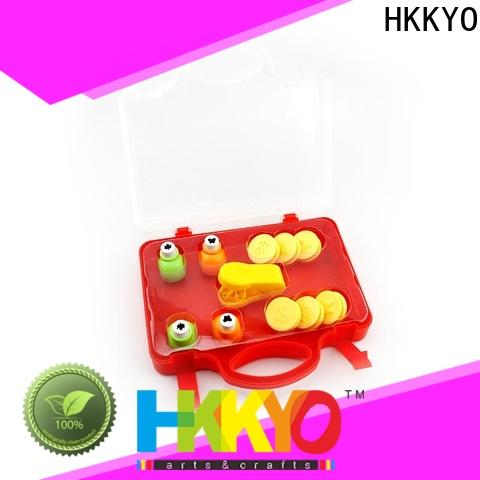 HKKYO ABS & Zinc Alloy paper punch set for business for kids craft