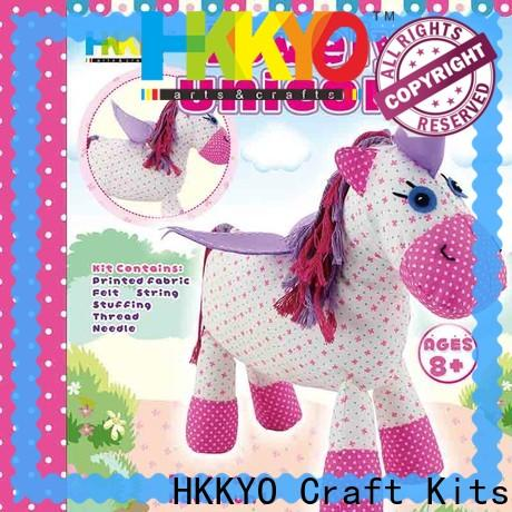 HKKYO first arts and crafts kits for business for family activities