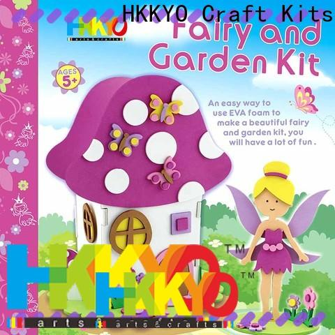 HKKYO fairy house craft kits for kids factory for Christmas gift