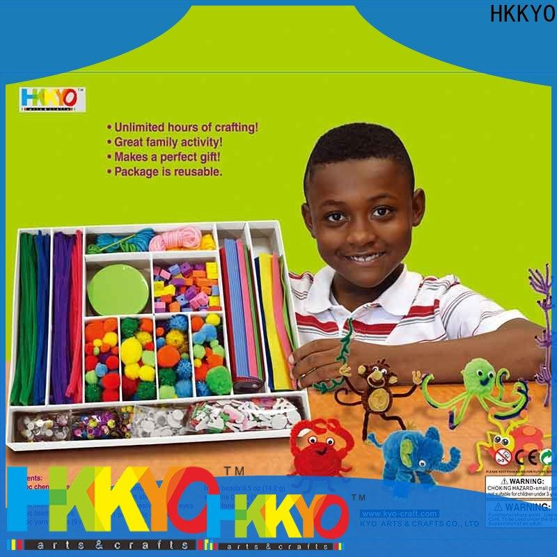 HKKYO Pom Pom kit scrapbooking company for family activity