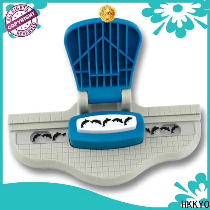 HKKYO Custom paper edge punch manufacturers for kids artwork