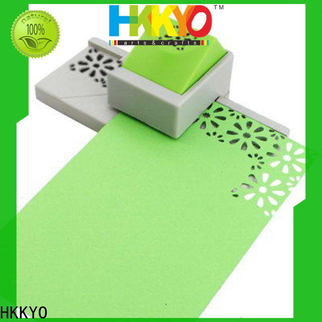 HKKYO embossing paper edge punch factory for greeting cards