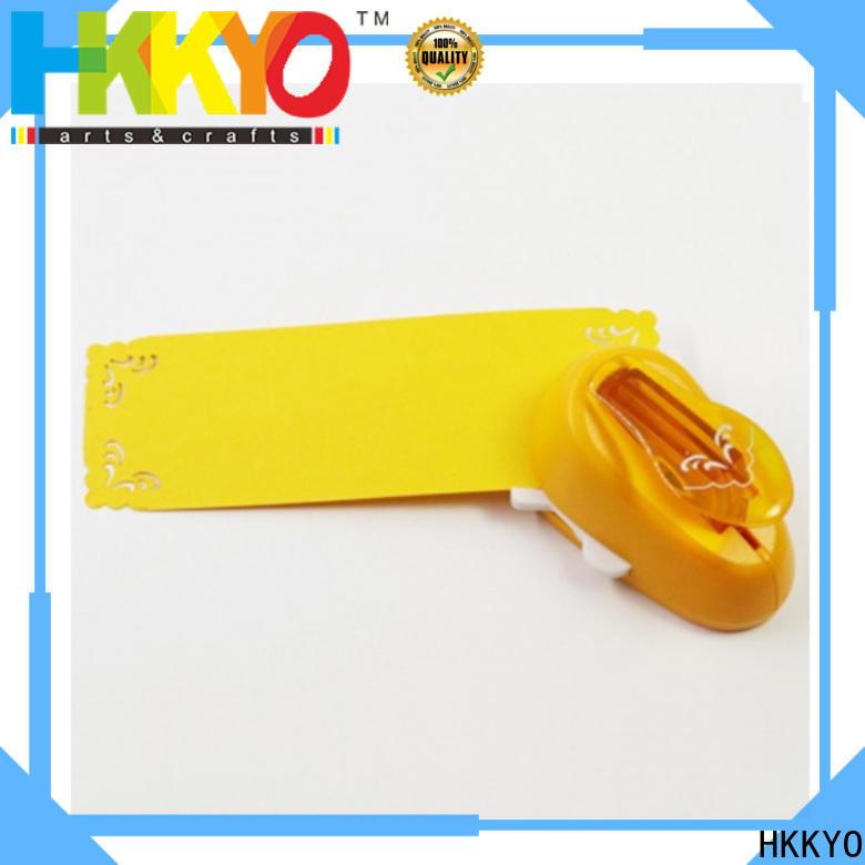 HKKYO 3 ways corner paper punch Suppliers for kids