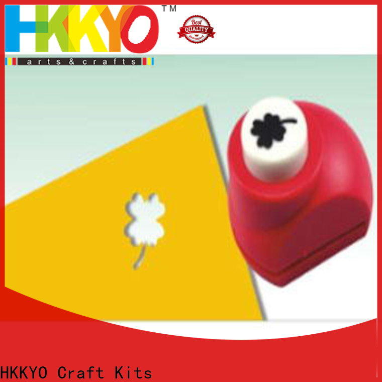 HKKYO High-quality scrapbook hole punch manufacturers for cardboard
