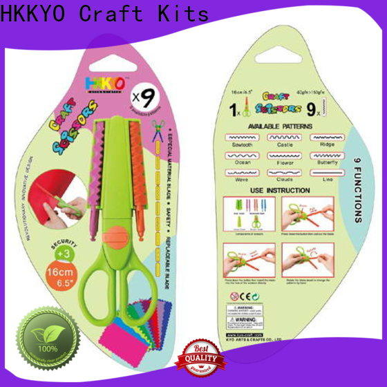 HKKYO Custom types of scissors for crafts for business for gifts wrapping