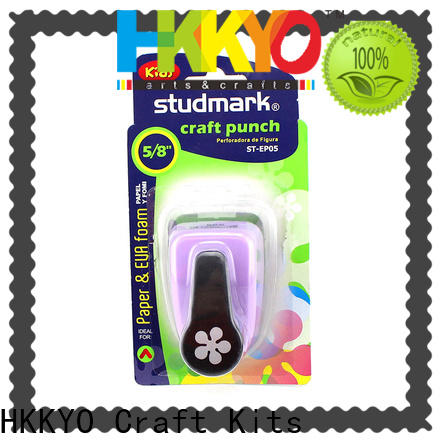 HKKYO foamie card paper shape punch for business for gifts