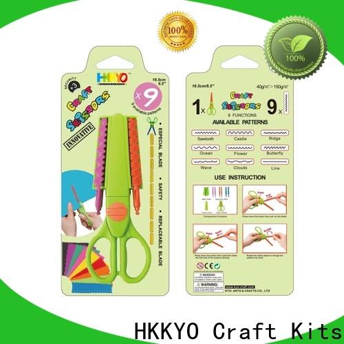 HKKYO Custom types of scissors for crafts manufacturers for art & craft lovers