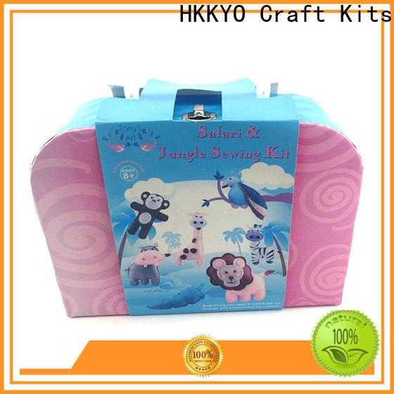 HKKYO animal scrapbooking set factory for birthday gifts