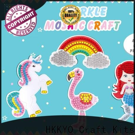 New craft kits for kids sticky Suppliers for gifts