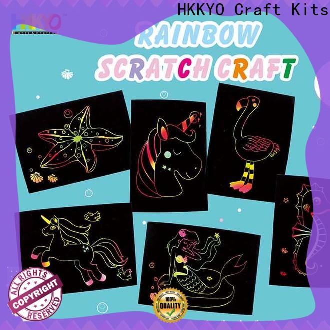 HKKYO mermaid kit craft manufacturers for greeting card