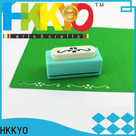HKKYO High-quality border punch company for greeting cards