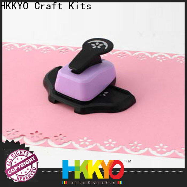 HKKYO multi colors edge punch company for paper craft