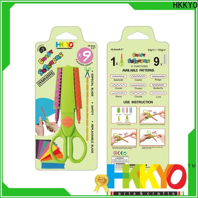 Latest craft scissors shapes many patterns manufacturers for DIY crafts