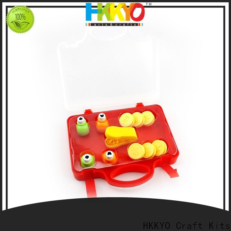Top craft punch set embosser case for business for greeting card