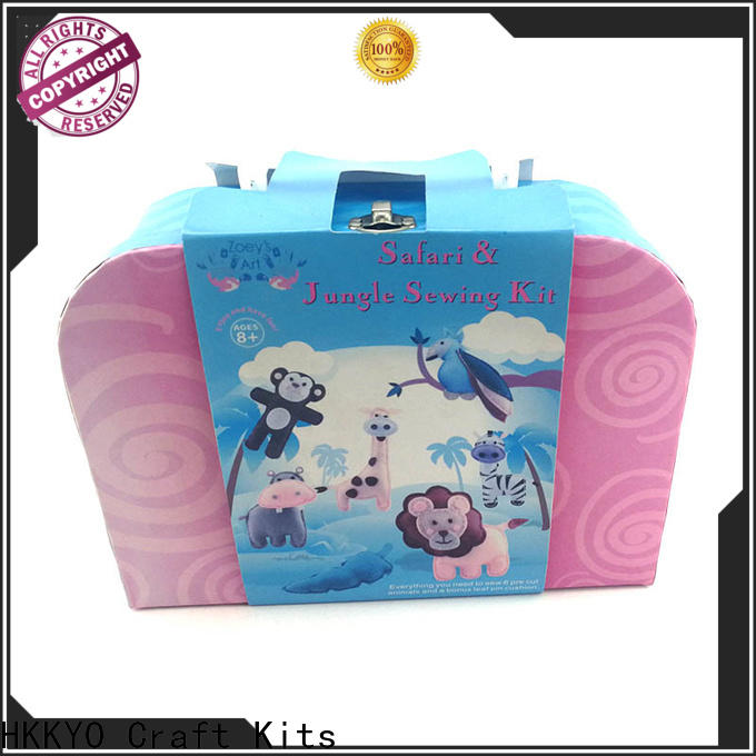 Latest felt craft kits sewing manufacturers for holiday presents