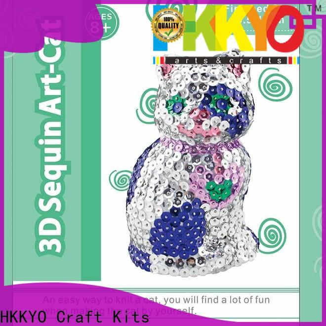 HKKYO model arts and crafts kits Suppliers for decor