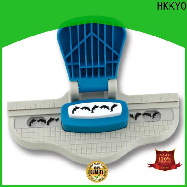 HKKYO multi colors paper edge punch factory for kids artwork