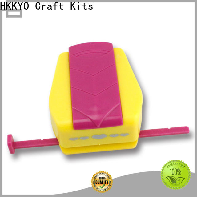 HKKYO ABS & Zinc Alloy craft punching machine Suppliers for greeting cards
