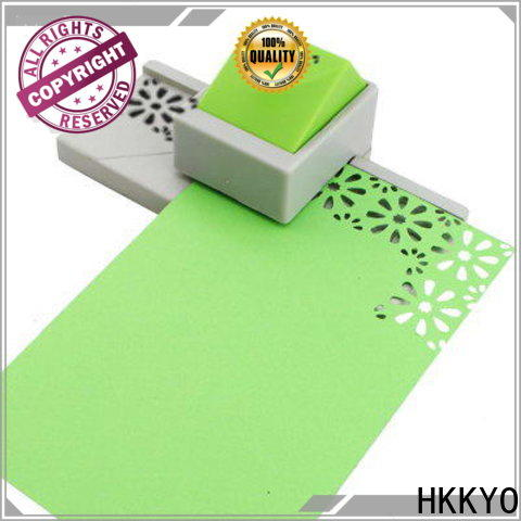 HKKYO High-quality paper edge punch Supply for DIY scrapbook
