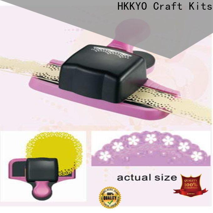 HKKYO New paper edge punch manufacturers for DIY scrapbook