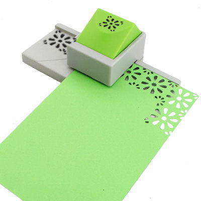Continuous Edge Border Embossing Paper Shape Punch