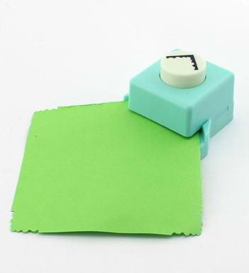 1 inch (25mm) Square Shape Corner Punch