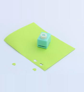 EVA Foam Paper Shape Craft Punch Hole Puncher Card Scrapbooking