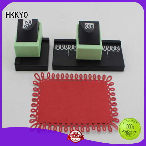 HKKYO corner craft hole punch company for kids