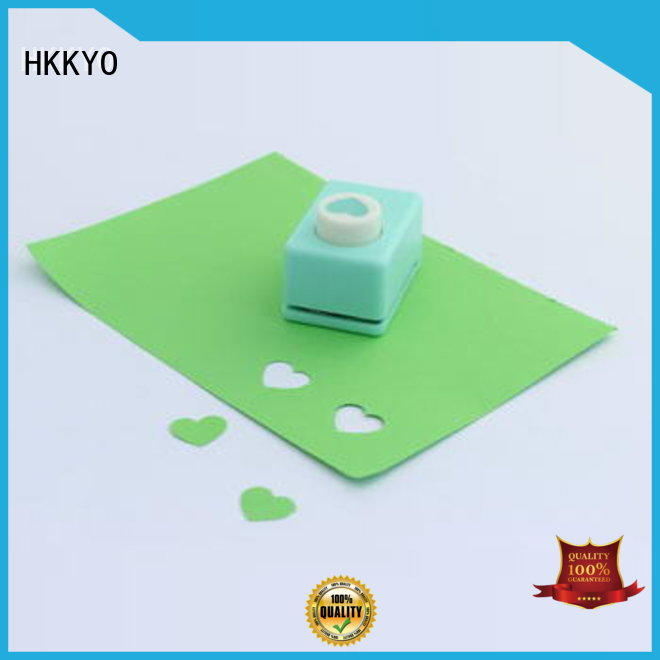 HKKYO Top scrapbook punches manufacturers for kids DIY artwork