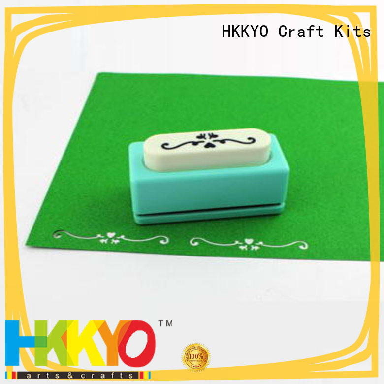 HKKYO New edge punch for business for greeting cards