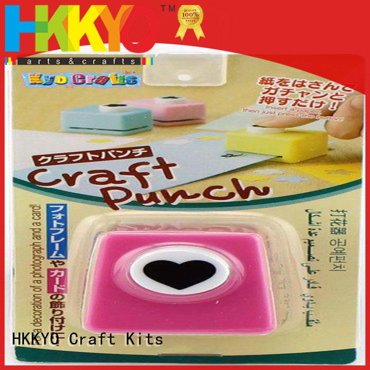 HKKYO Custom scrapbook punches company for paper