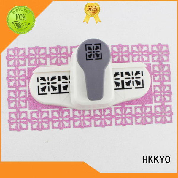 HKKYO Top border punch company for greeting cards