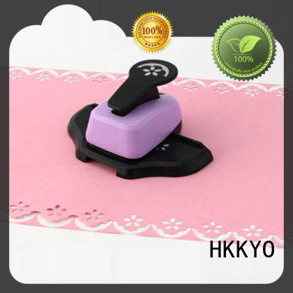 HKKYO multi colors paper edge punch factory for greeting cards